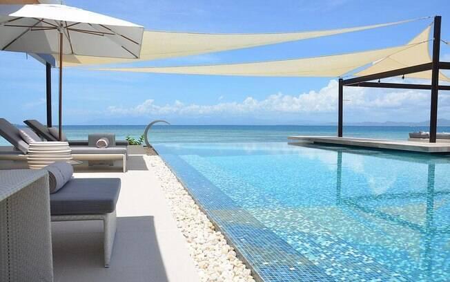O resort Banwa Private Island, no arquipélago de Palawan, nas Filipinas, impressiona com  belas e encantadoras paisagens