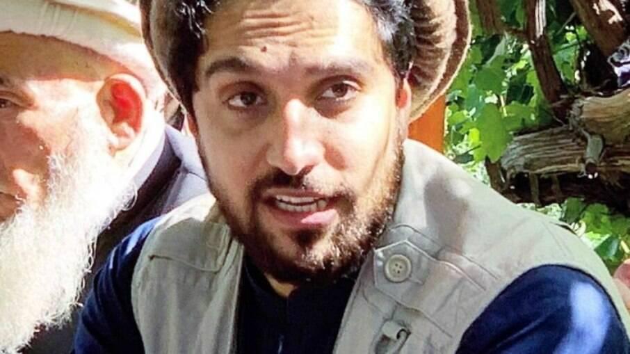 Ahmad Massou, líder da resistência do Vale do Panjshir contra o Talibã