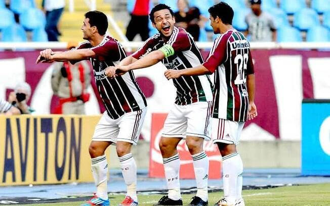 Fred e Thiago Neves brilharam pelo Fluminense