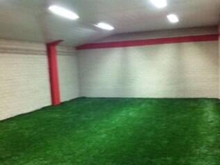 Amplo espaço para aquecimento é um dos trunfos do estádio Antonio Aranda