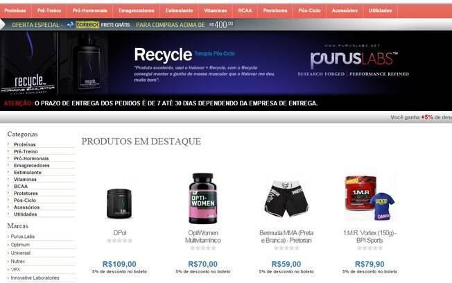 www.atletika.com.br. Foto: Reprodução