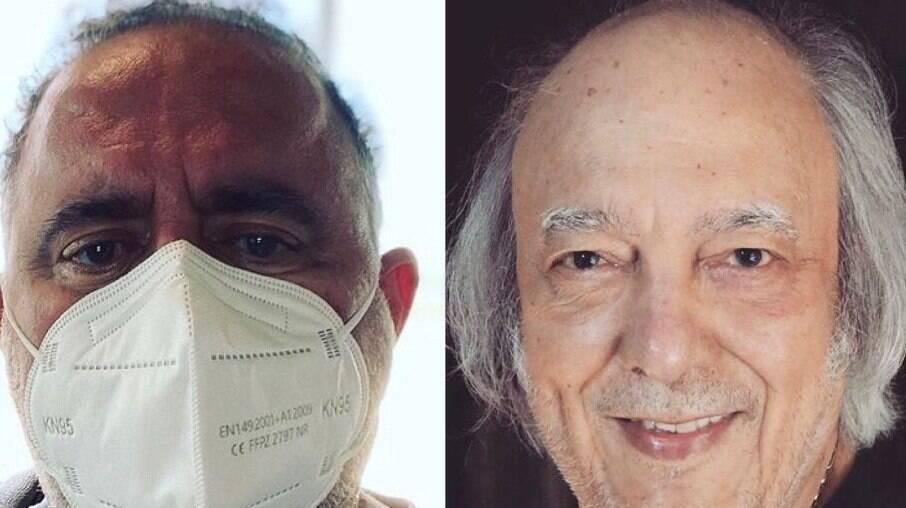 Leo Jaime comenta estado de saúde de Erasmo Carlos