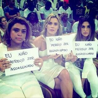 Carolina Dieckmann, Preta Gil e Fernanda Paes Leme protestam nas redes sociais