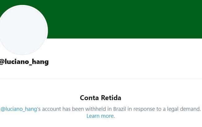 Twitter bloqueado Luciano
