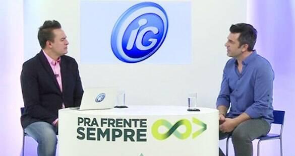 """Reprise: Assista ao """"Pra Frente Sempre"""" com Alexandre Iódice e Edu Guedes"""