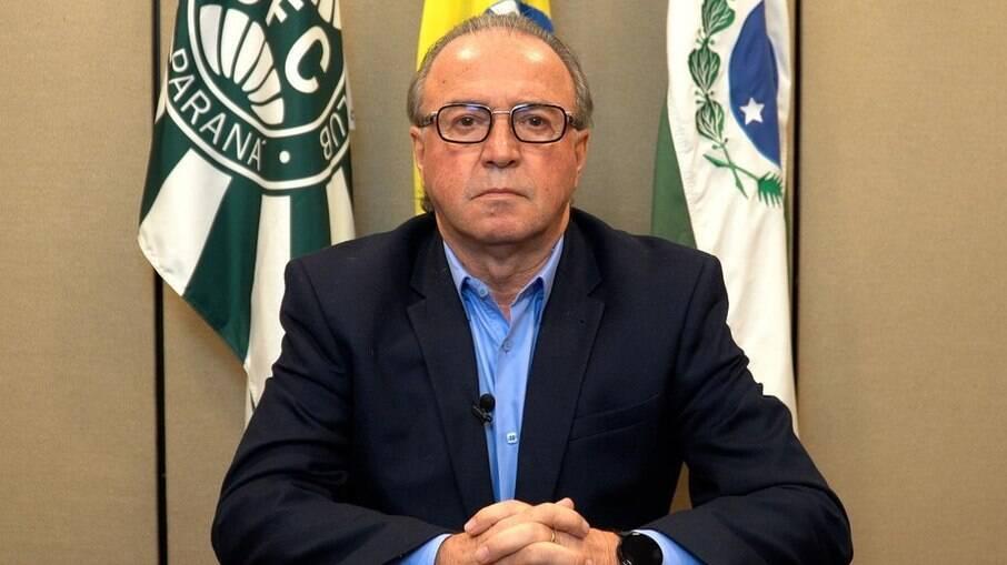Renato Follador, presidente do Coritiba