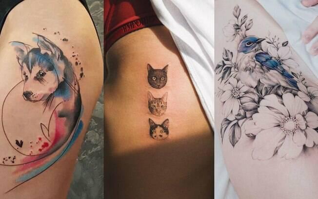 Tatuagens de animais podem ser a forma perfeita de homenagear um bicho de estimação, mas é preciso tomar cuidados