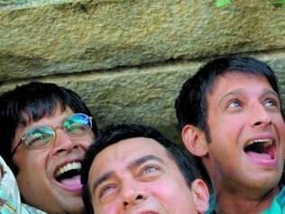 """Grande sucesso local, a comédia """"3 Idiotas"""" é destaque da mostra"""