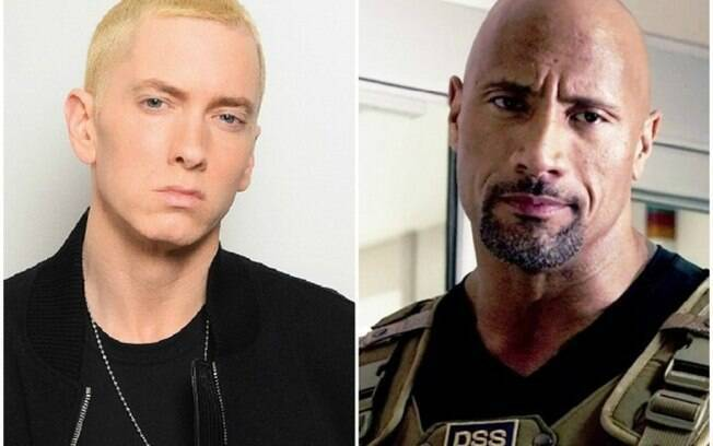 Eminem e Dwayne Johnson