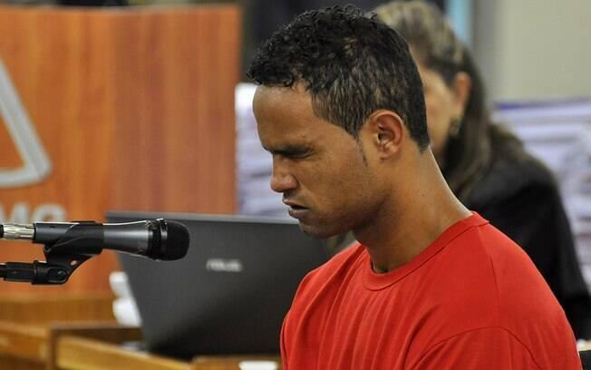 Bruno interrompe depoimento durante julgamento no Fórum de contagem (MG) e chora