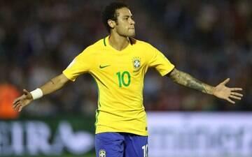 Neymar fez comemoração diferente após gol no Uruguai; veja o significado