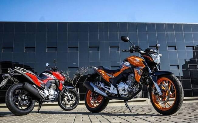 Honda CB 250F Twister tem visual agressivo, com cores que podem agradar aos que tem personalidade