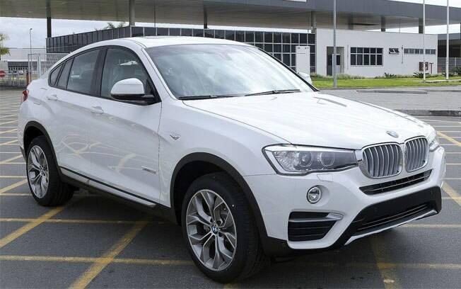 BMW X4 é o carro mais caro produzido no Brasil atualmente