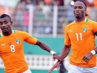 Costa do Marfim, de Kalou e Drogba, já sabe onde ficará em 2014