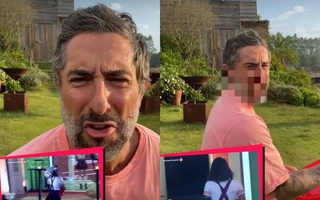 Apresentador do programa postou vídeo satirizando briga entre Jake e Tays