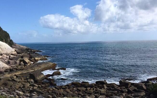 Nas praias de Santa Catarina, a praia da Sepultura é considerada
