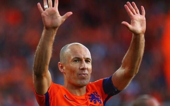 Robben se aposentou na temporada passada