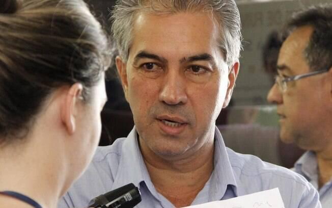 Governador do Mato Grosso do Sul, Reinaldo Azambuja (PSDB), foi alvo de mandados de busca e apreensão hoje