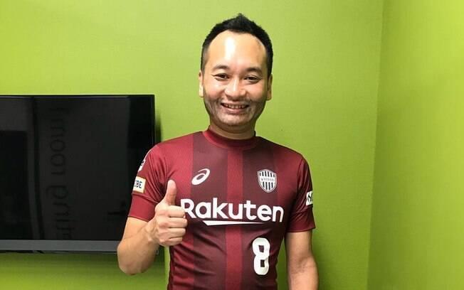 Yusuke Noda já imitava Iniesta antes mesmo da chegada do craque no Japão