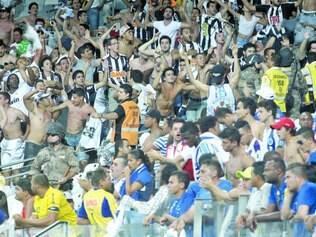 Problemas. Último clássico disputado entre Cruzeiro e Atlético no Mineirão teve confusão entre as torcidas, e a PM teve que intervir