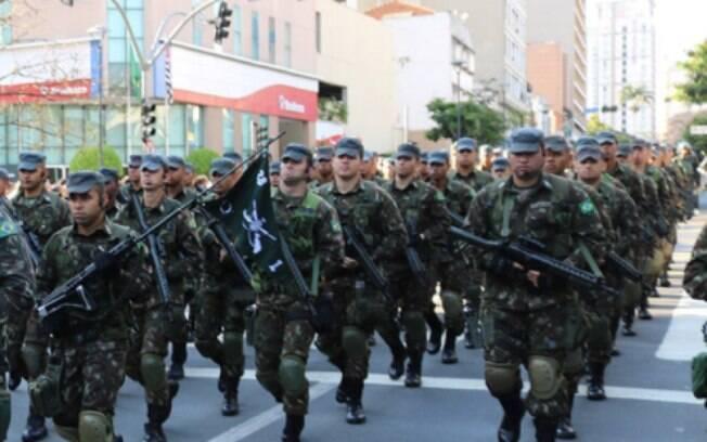 Desfile do 7 de setembro em Campinas no ano passado.