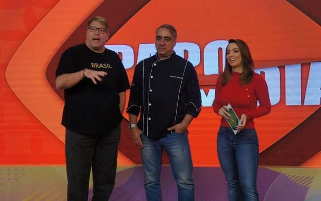 O reality 'Cozinhando no Papo Em Dia' é o novo quadro do programa 'Papo em Dia', exibido na Rede Brasil