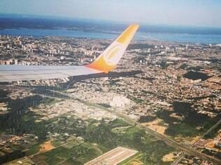 Balotelli postou foto do voo de volta para o Rio