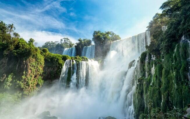 Na Argentina também é possível admirar as belezas naturais das Cataratas do Iguaçu