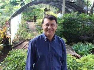Presidente da Conparq José Carlos Gomes busca melhorias no Horto Florestal de Contagem
