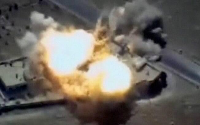 Como resultado do grande ataque de mísseis, vários centros de comando do Estado Islâmico foram destruídos