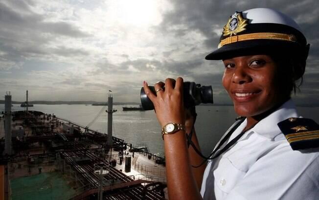 Vanessa é imediato de Hildelene, a 1ª mulher a comandar um petroleiro no Brasil