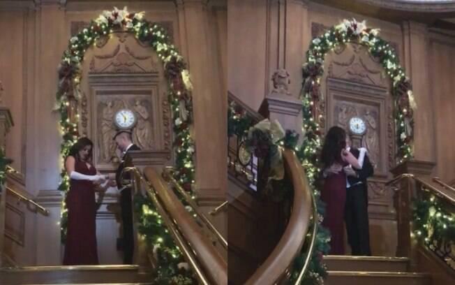 Para o pedido de casamento inspirado em 'Titanic' e um jantar privativo, o noivo desembolsou um valor de $1,3 mil dólares