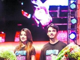 3º lugar.     Mikaella   Cherigati e Rafael Faioli conquistam público