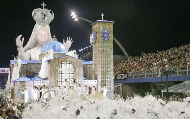 Unidos da Vila Maria fala sobre Nossa Senhora Aparecida no carnaval de São Paulo