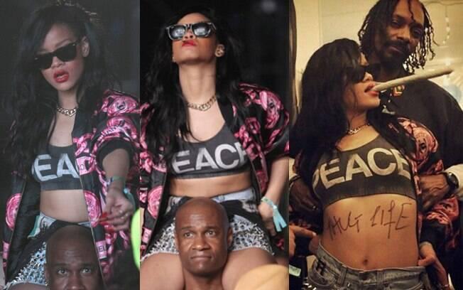 Rihanna no Coachella: maconha, fotos escândalosas e bebedeira