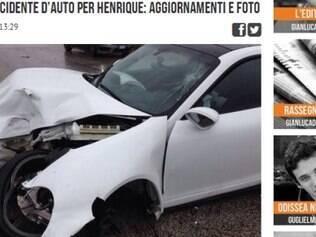 Zagueiro brasileiro sofreu acidente, mas passa bem