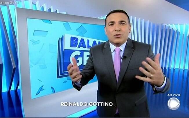 Reinaldo Gottino estaria se desentendo com executivos da Record
