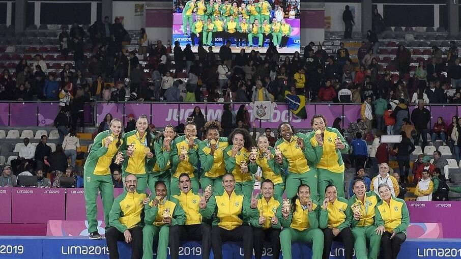 Seleção brasileira de basquete feminino é vetada do o Sul-Americano