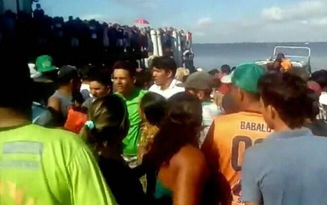 Embarcação de passageiros saiu de Santarém com destino final em Vitória do Xingu, no Pará