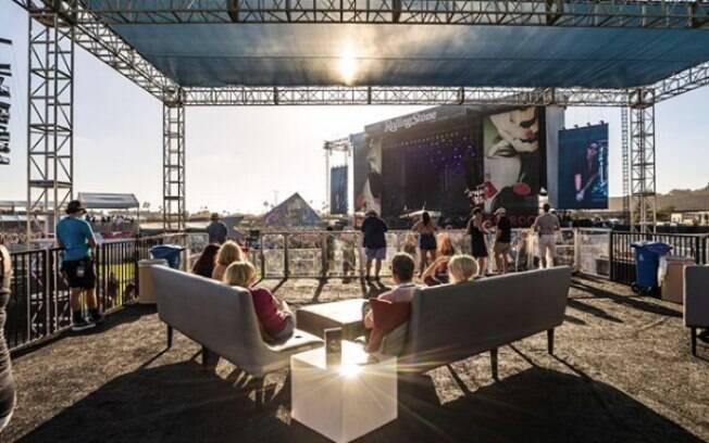 O Kaaboo Del Mar traz uma proposta diferenciada em relação a outros festivais de música, priorizando pelo conforto