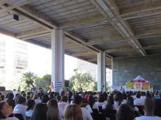 Audiência pública aconteceu nesta quarta-feira (14) reunindo deputados e diversos enfermeiros e estudantes de enfermagem