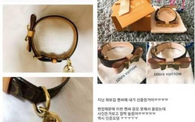 presentes do astro de k-pop à venda