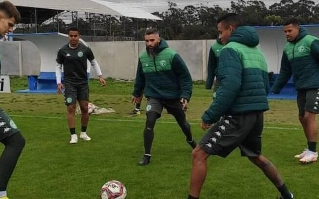 Guarani entra em campo contra o Goiás às 19h