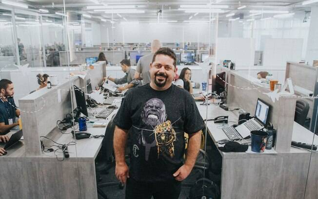 Márcio Motta e a equipe da Monetizze: a empresa realiza mais de 4 milhões de vendas por ano na internet