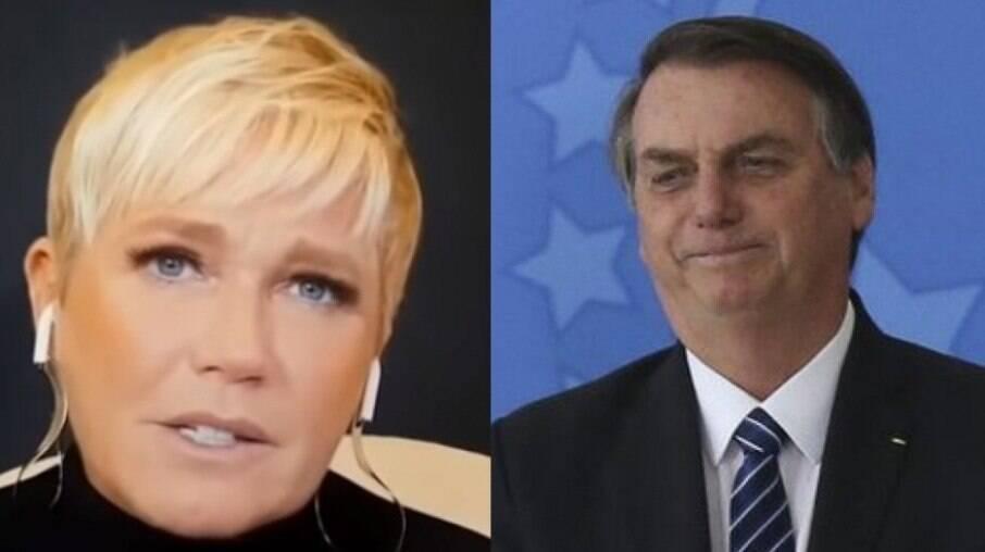 Xuxa Meneghel e Jair Bolsonaro
