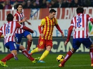 Barça e Atlético já se enfrentaram três vezes na temporada e todos os jogos terminaram empatados