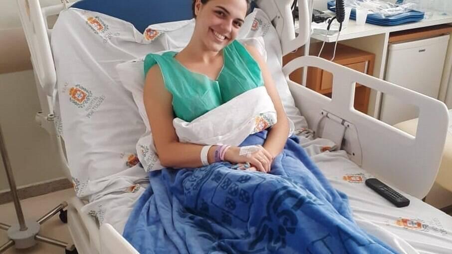 Mesmo sem conhecer a pessoa que vai receber a medula, Giovanna Venarusso  tem certeza que o gesto valeu a pena