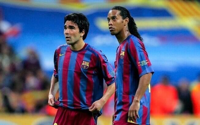 Hleb indicou que Deco e Ronaldinho Gaúcho treinavam bêbados no Barcelona