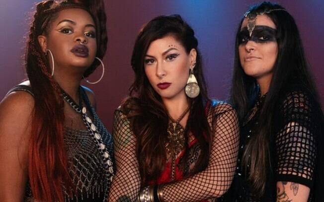 Pitty lançou Contramão com Tássia Reis e Emmily Barreto, voz de destaque no rock nacional atual