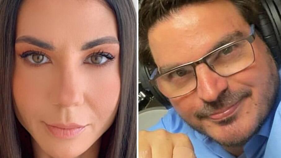 Amanda Klein e Rodrigo Constantino